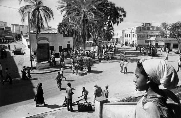 The Somalian capital of Mogadishu in 1977, before it degenerated into chaos.