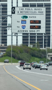 Some U.S. toll lanes are already dynamically priced to reduce ­congestion. U.S. Department of Transportation.