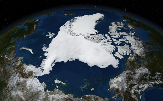 The figures on warming don't match the hype. Photo: NASA.